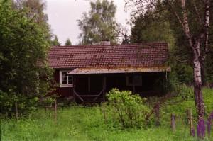 Utflykt till Ryd. Huset där Martha bodde.